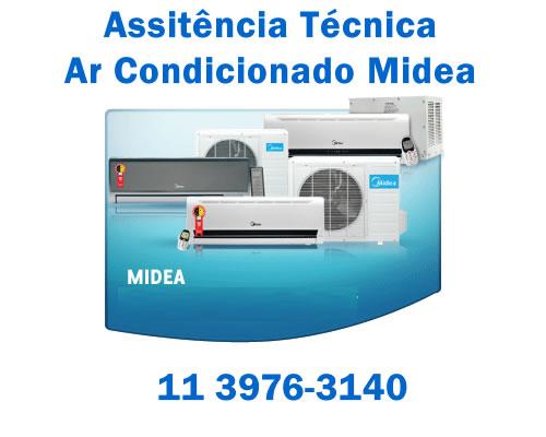 Assistência técnica ar condicionado Midea