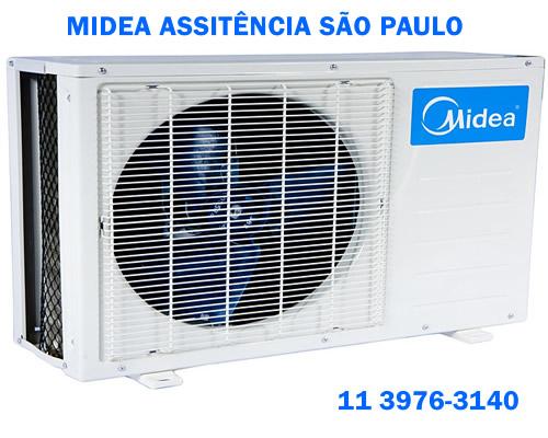 Midea assistência São Paulo