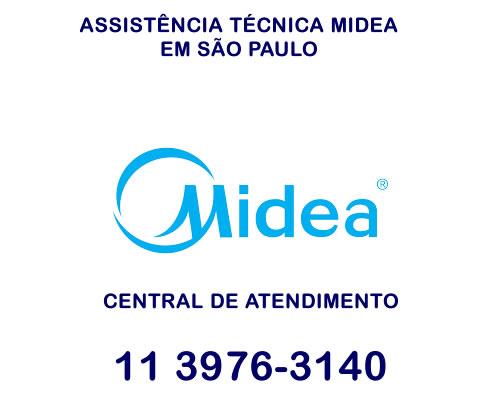 Assistência técnica Midea